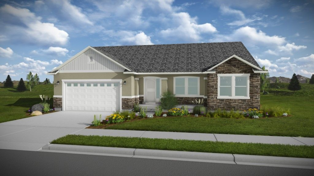 Exterior featured in the Emily - Rambler By EDGEhomes in Provo-Orem, UT
