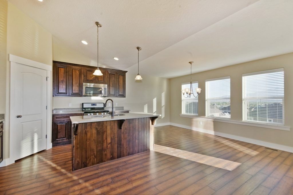 Kitchen featured in the Emily - Rambler By EDGEhomes in Provo-Orem, UT