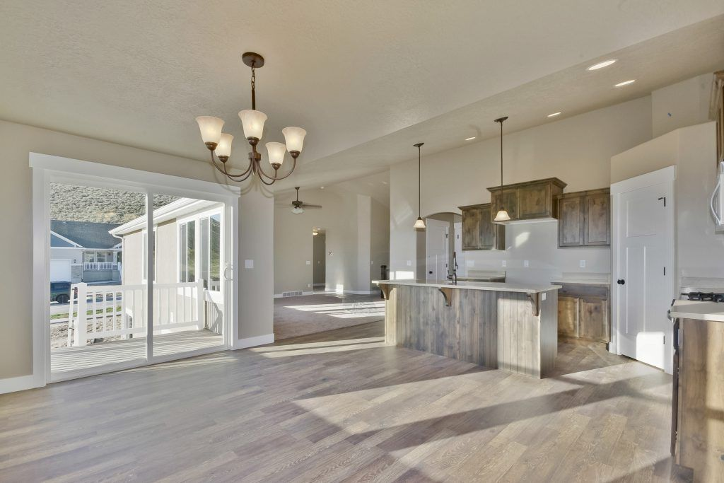 Kitchen featured in the Emily - Rambler By EDGEhomes in Salt Lake City-Ogden, UT