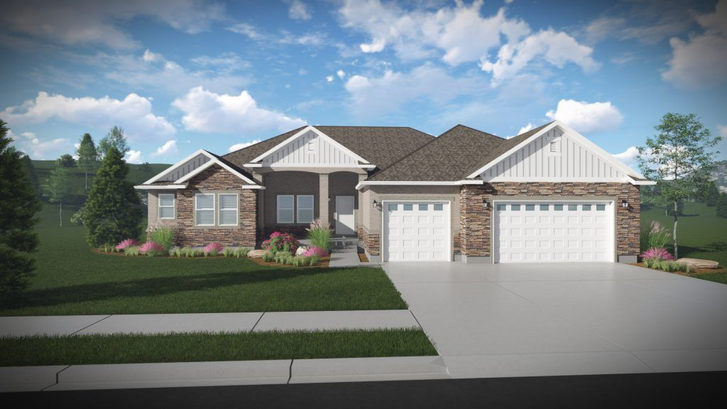 Exterior featured in the Tiffany - Rambler By EDGEhomes in Provo-Orem, UT
