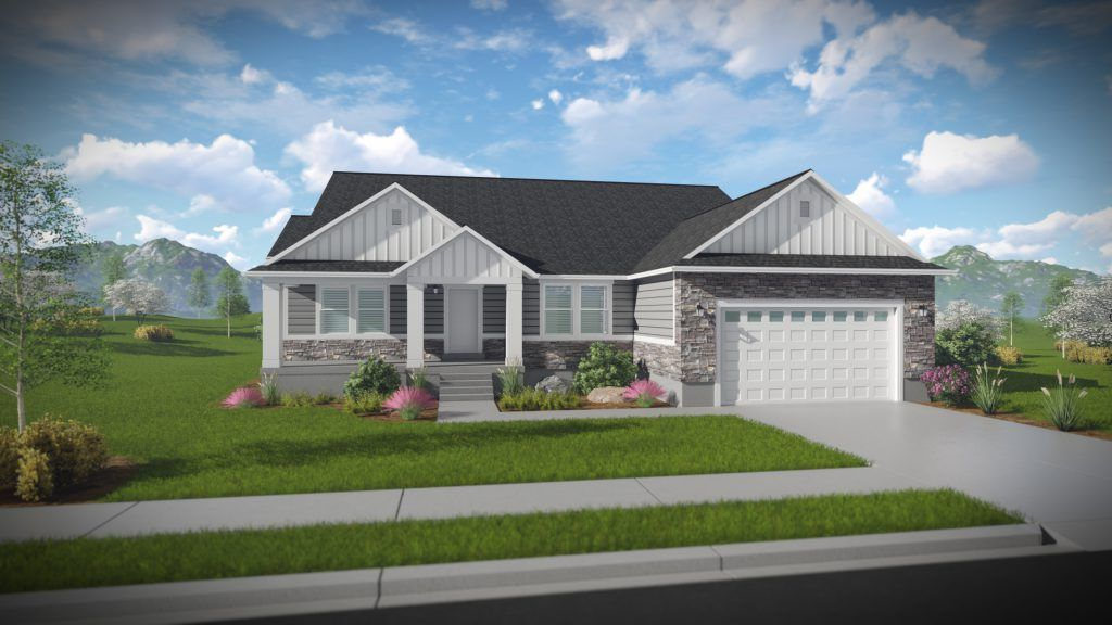 Exterior featured in the Paisley - Rambler By EDGEhomes in Provo-Orem, UT