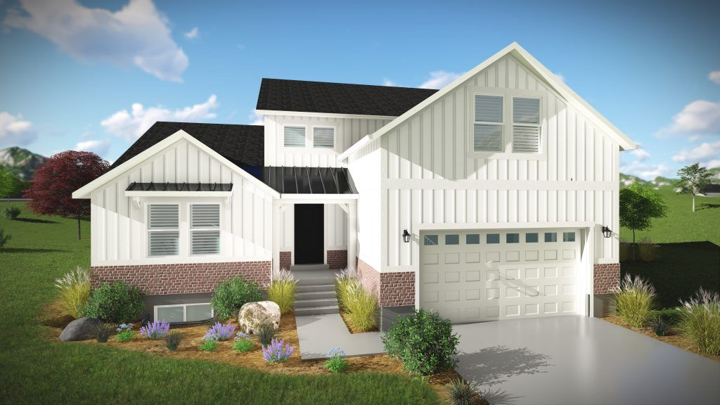Exterior featured in the Orlando - Two Story By EDGEhomes in Salt Lake City-Ogden, UT