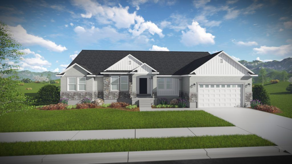 Exterior featured in the Olivia - Rambler By EDGEhomes in Salt Lake City-Ogden, UT