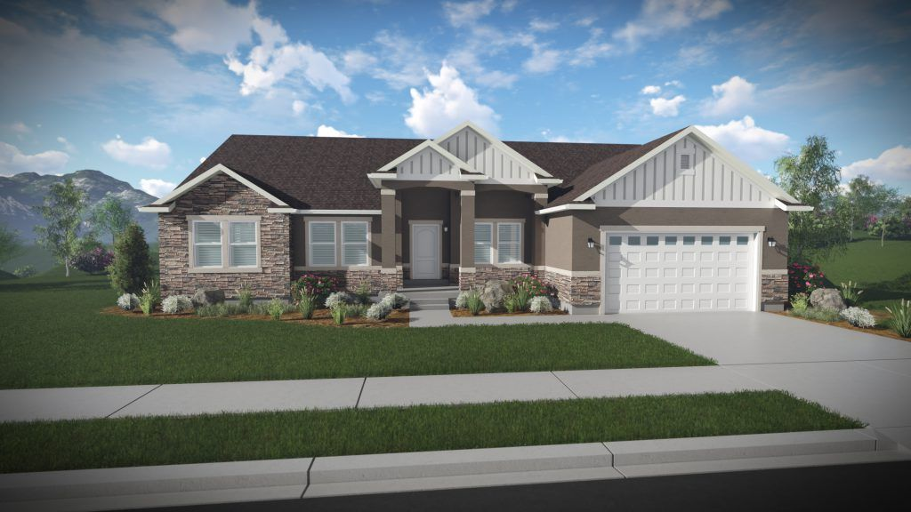Exterior featured in the Landon - Rambler By EDGEhomes in Provo-Orem, UT