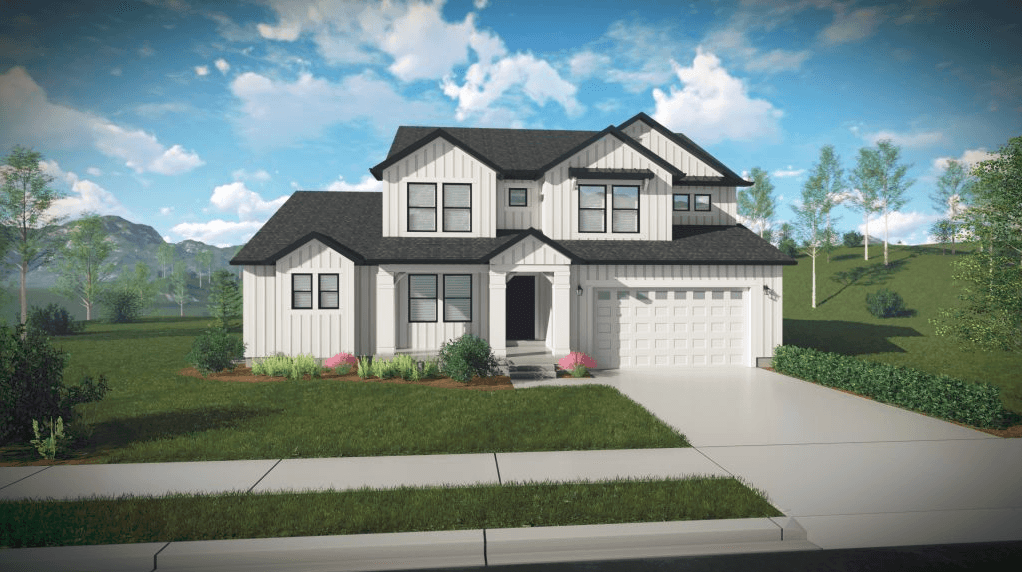 Exterior featured in the Tessa By EDGEhomes in Salt Lake City-Ogden, UT