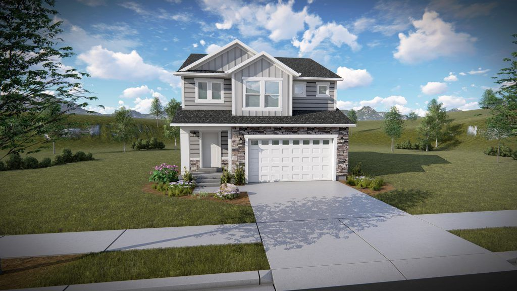 Exterior featured in the Lucas By EDGEhomes in Provo-Orem, UT