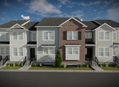 Chantelle Outer Townhome - Lakefront at Vineyard Town Center: Vineyard, Utah - EDGEhomes