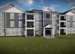 Condominium A Main Level - Parkside at Herriman Towne Center: Herriman, Utah - EDGEhomes