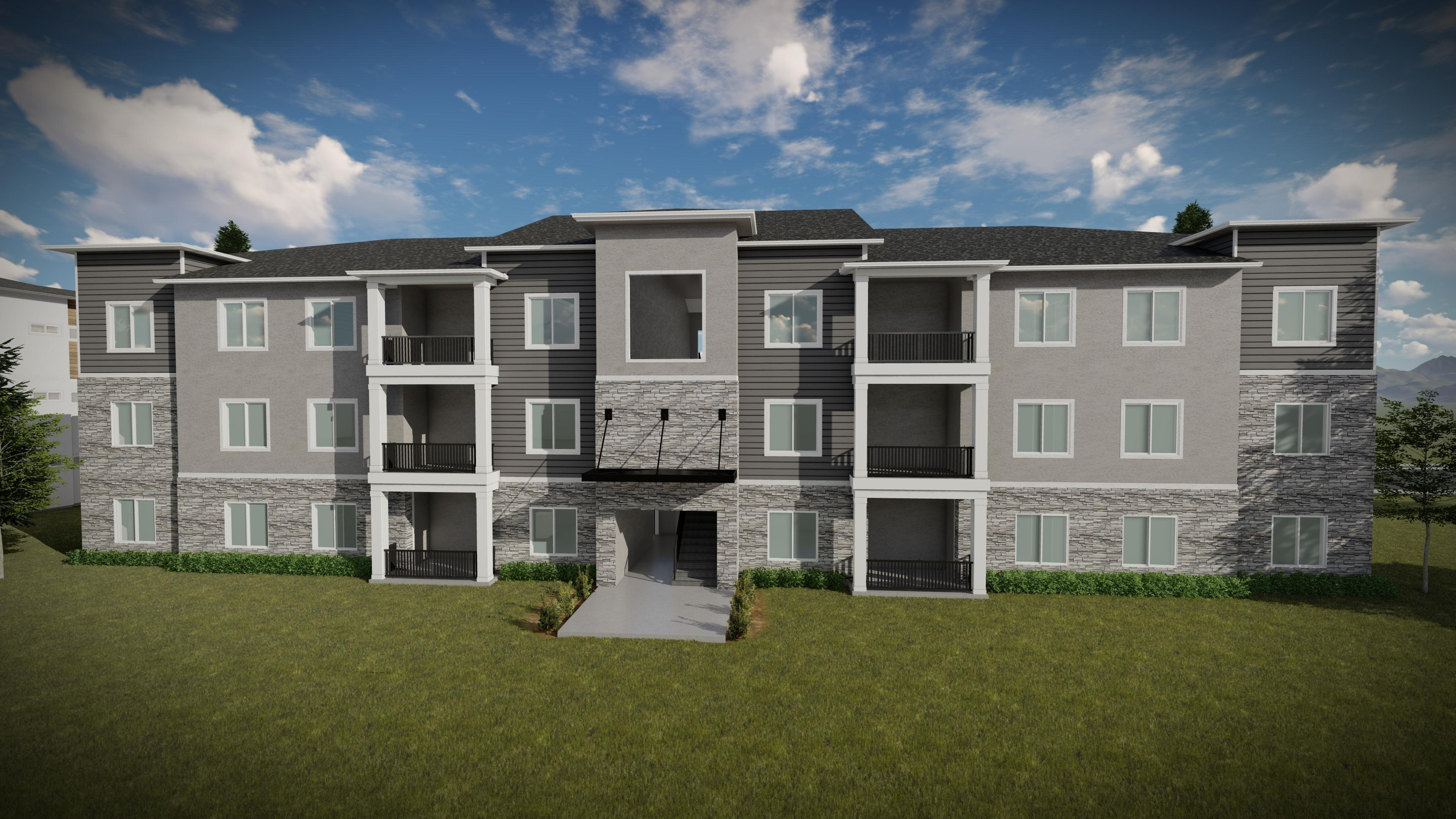 Exterior featured in the Condominium A Third Level By EDGEhomes in Provo-Orem, UT