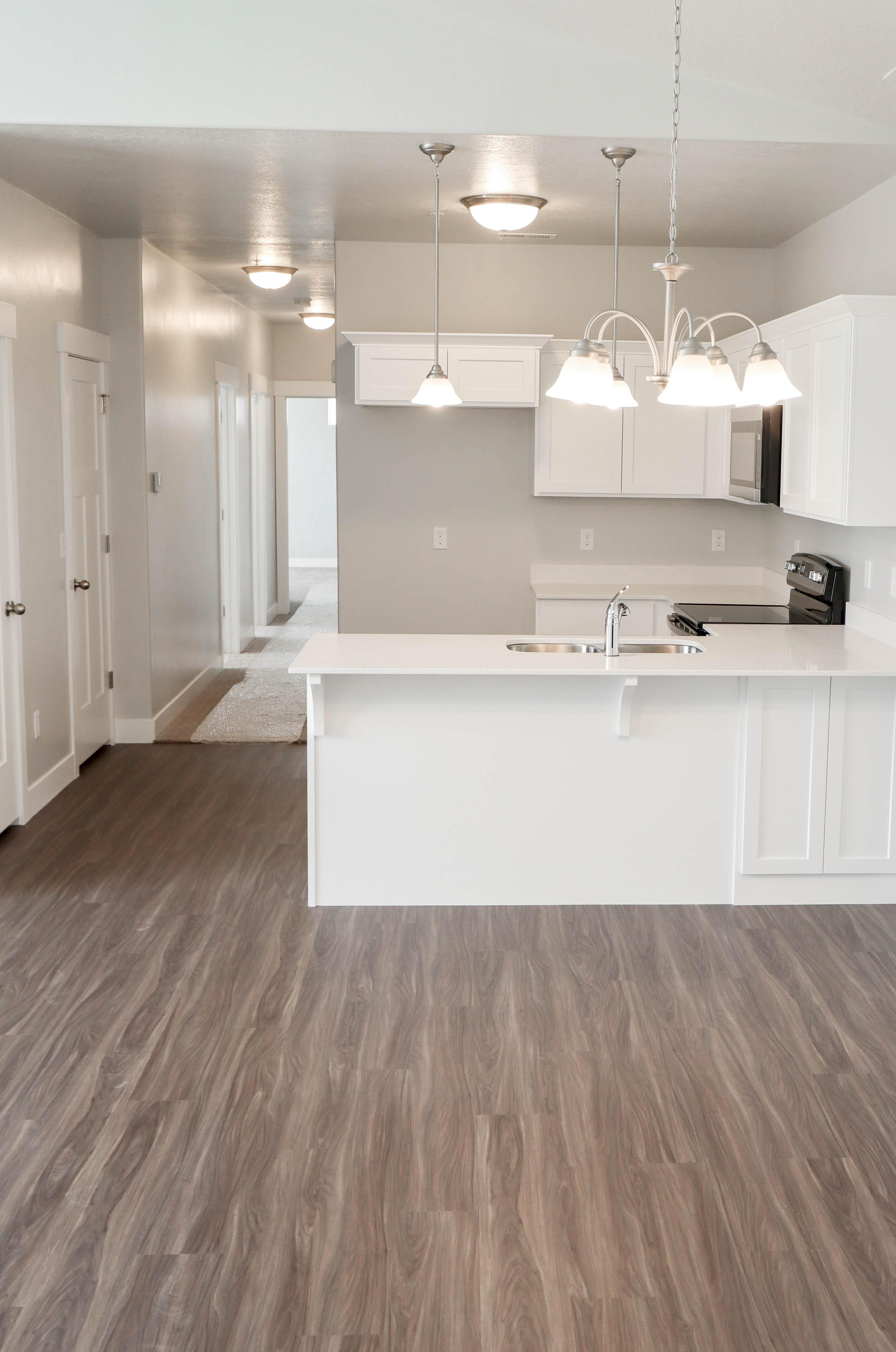 Kitchen featured in the Condominium A Third Level By EDGEhomes in Provo-Orem, UT