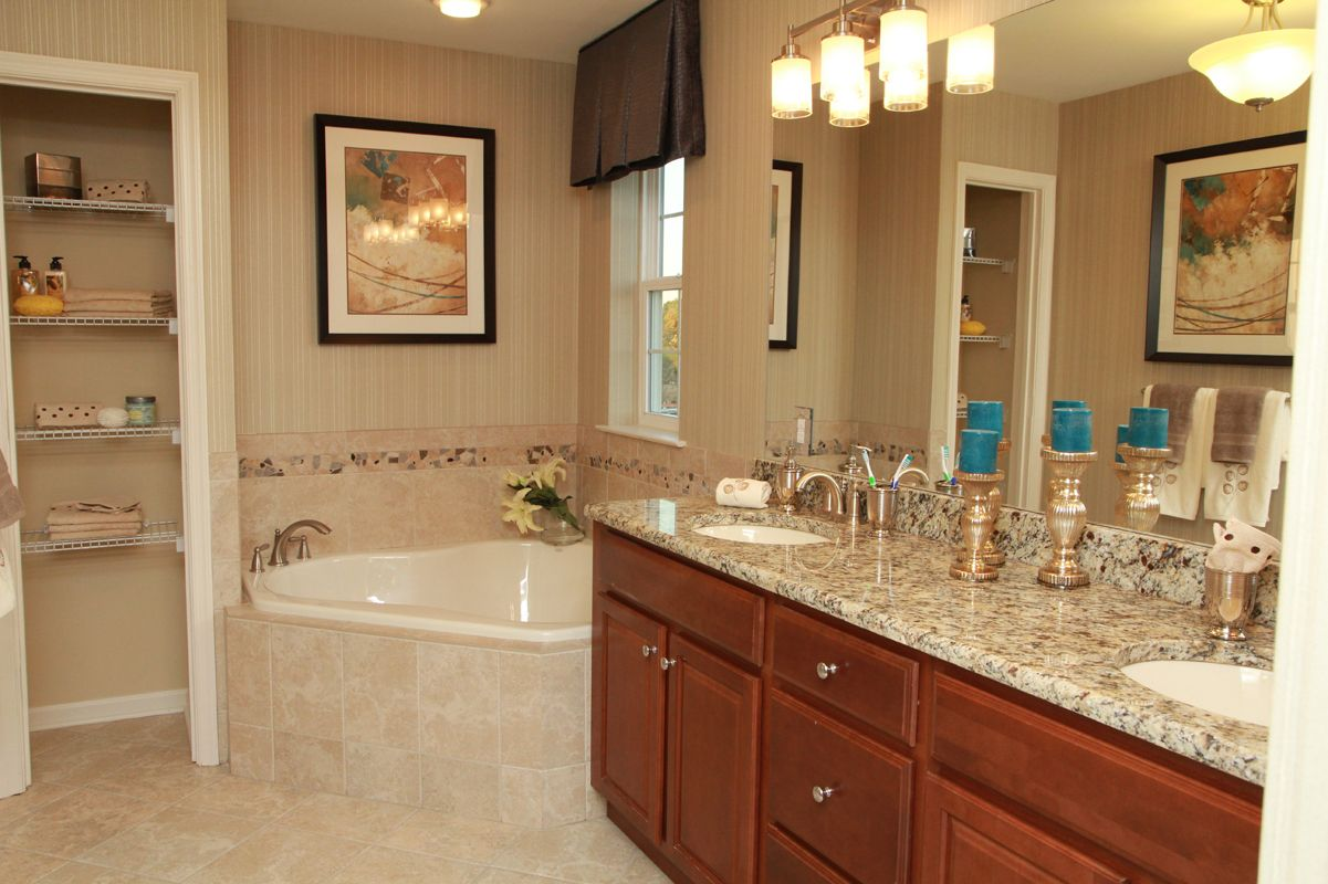 Bathroom featured in The Winchester By Edgewood Properties in Mercer County, NJ