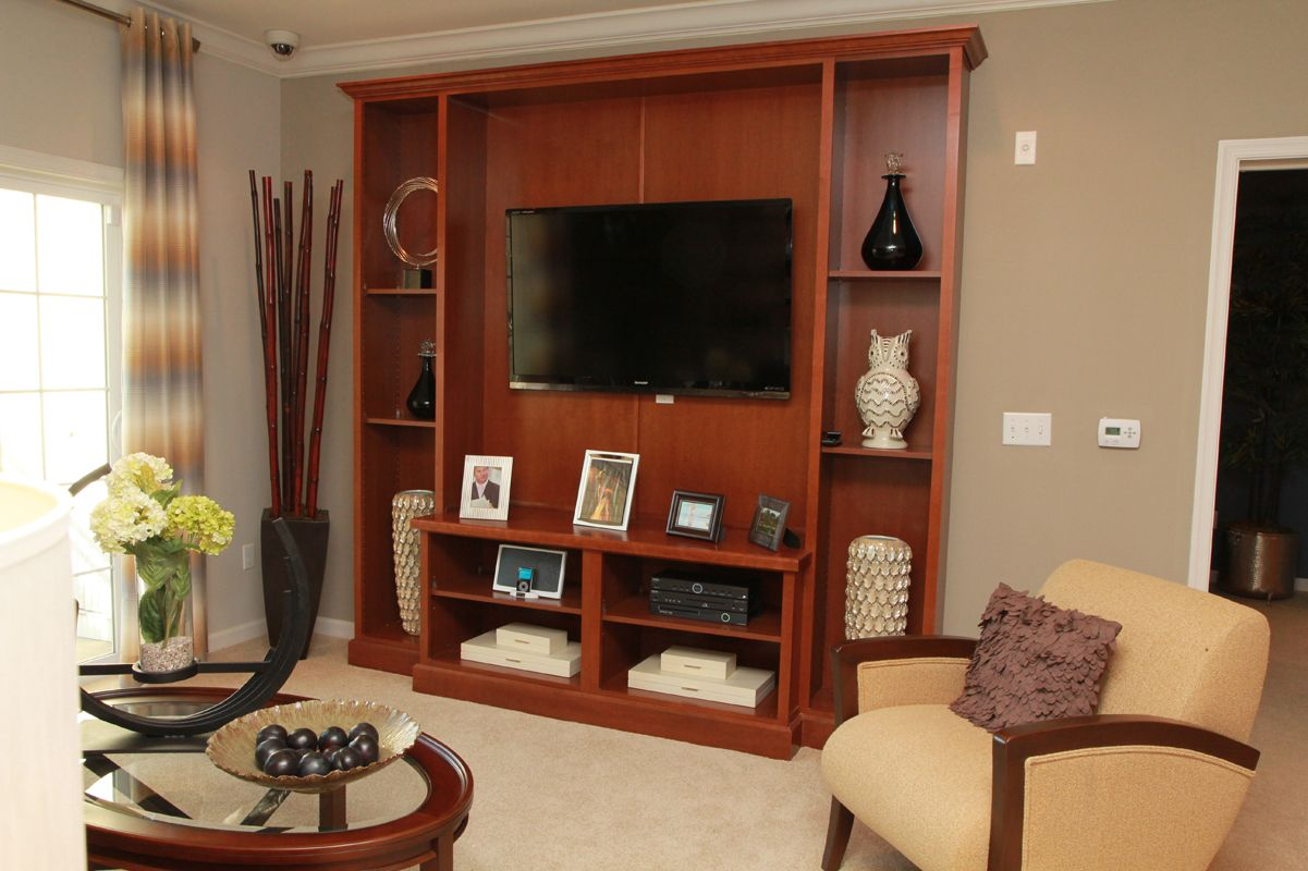 Living Area featured in The Santa Fe By Edgewood Properties in Mercer County, NJ
