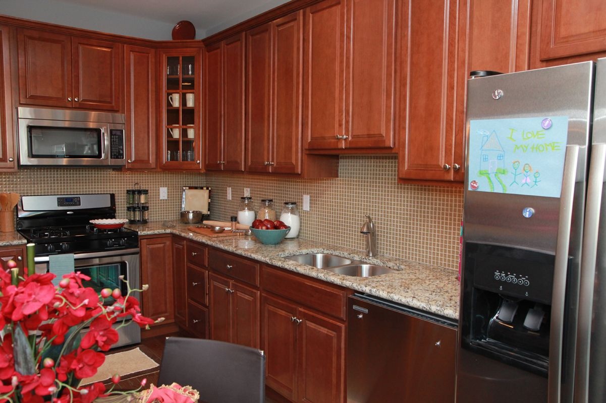 Kitchen featured in The Santa Fe By Edgewood Properties in Mercer County, NJ