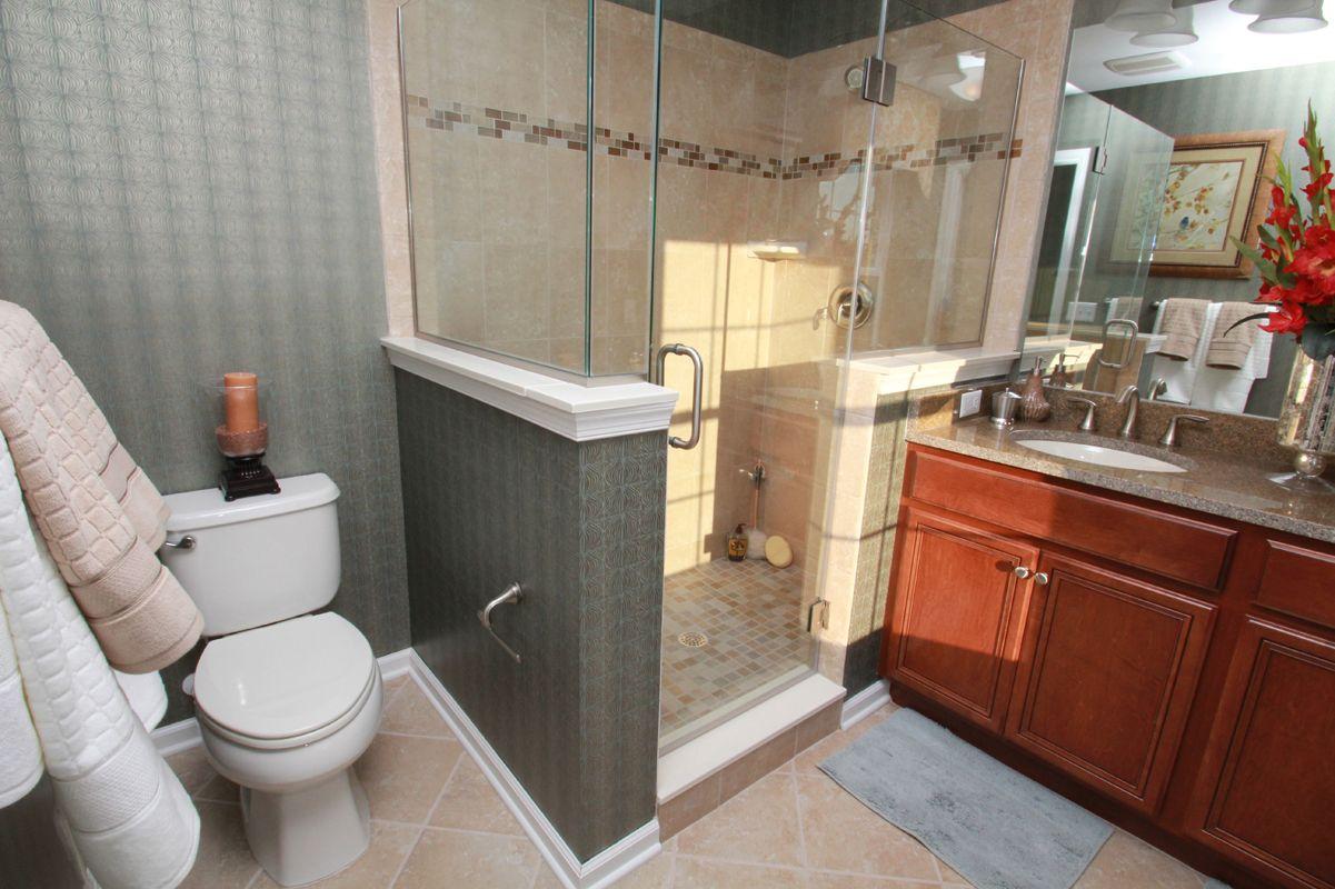 Bathroom featured in The Santa Fe By Edgewood Properties in Mercer County, NJ