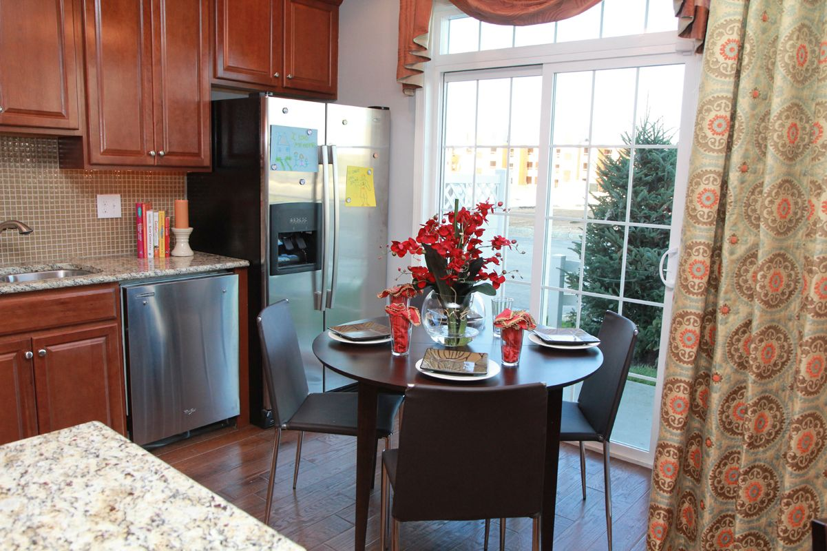 Kitchen featured in The Topeka By Edgewood Properties in Mercer County, NJ