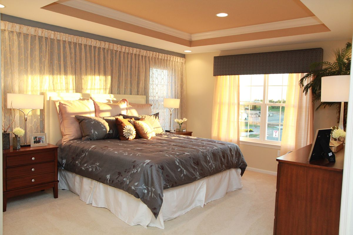 Bedroom featured in The Topeka By Edgewood Properties in Mercer County, NJ
