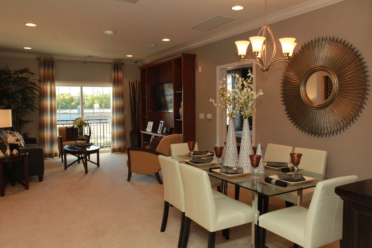 Living Area featured in The Buckingham I By Edgewood Properties in Mercer County, NJ