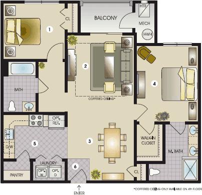 The Topeka Floor Plan