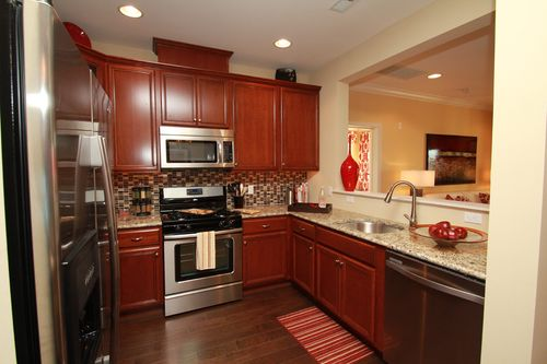 Kitchen-in-The Winchester-at-The Crossings at Hamilton Station-in-Hamilton Township
