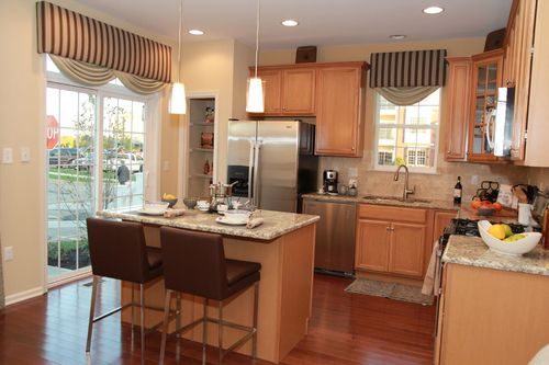 Kitchen-in-The Buckingham I-at-The Crossings at Hamilton Station-in-Hamilton Township