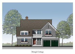 Shingle Cottage - Snug Harbor VIllage: Buckeye Lake, Ohio - Custom & Coastal Homes