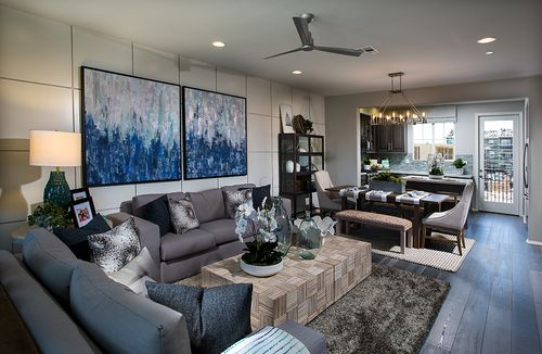 Greatroom-and-Dining-in-Aire - Plan 5-at-Springville-in-Camarillo