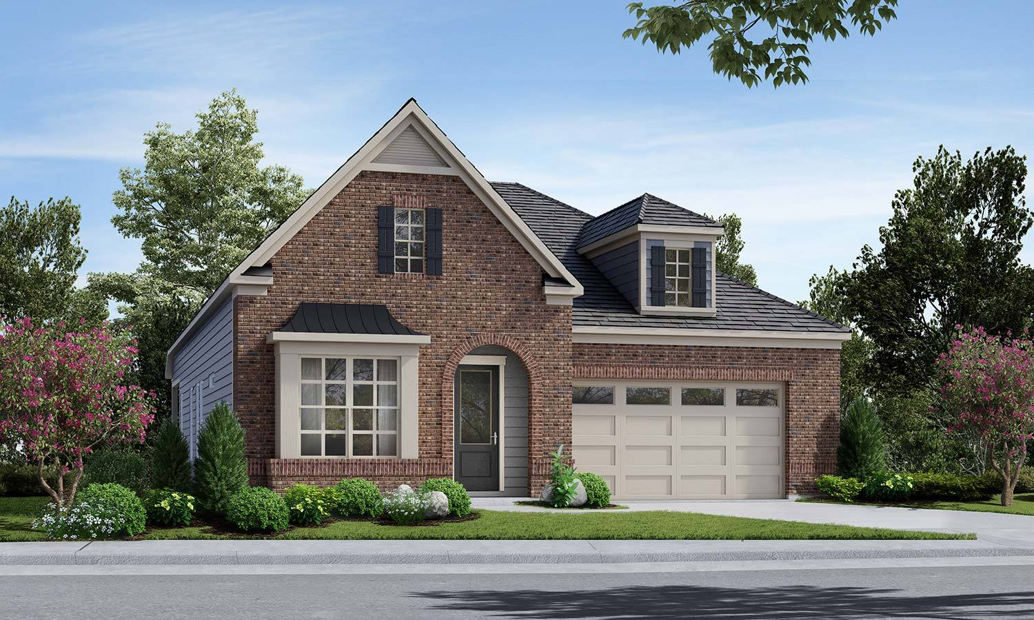 Exterior featured in The Curator By Elevate Homes in Raleigh-Durham-Chapel Hill, NC