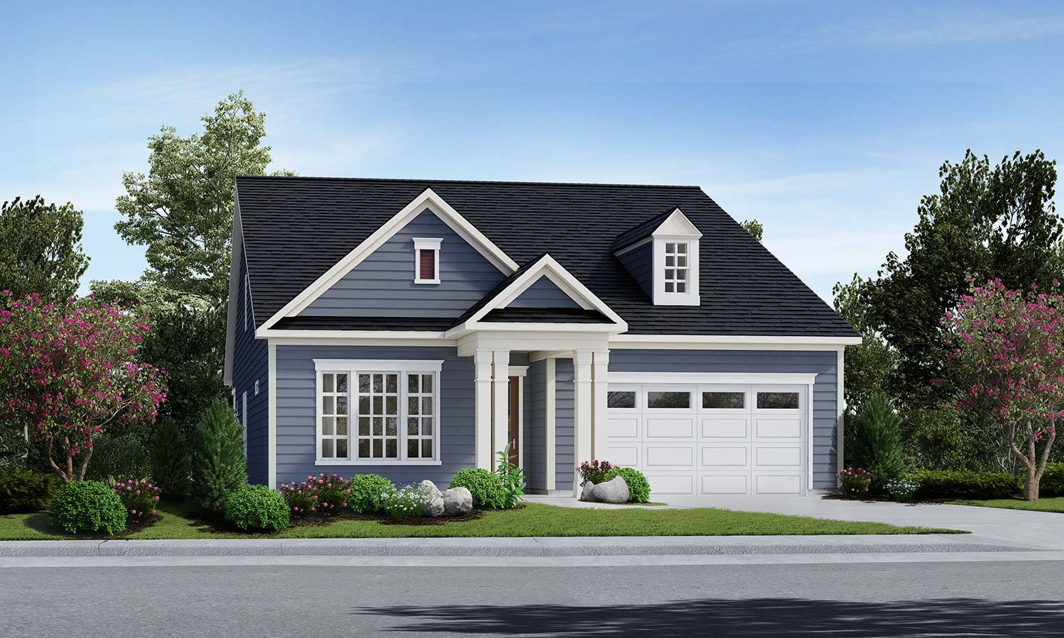 Exterior featured in The Virtuoso By Elevate Homes in York, PA
