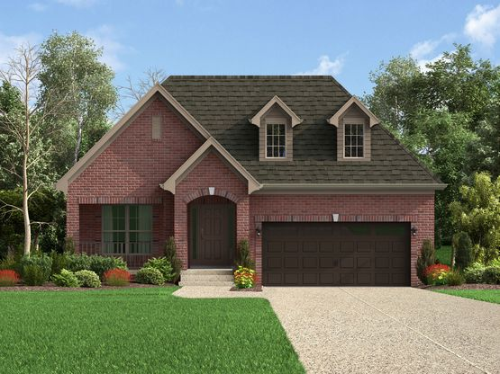 The Laurel Elevation A - Enclave At Douglass Hills In Louisville, KY, New Homes & Floor Plans