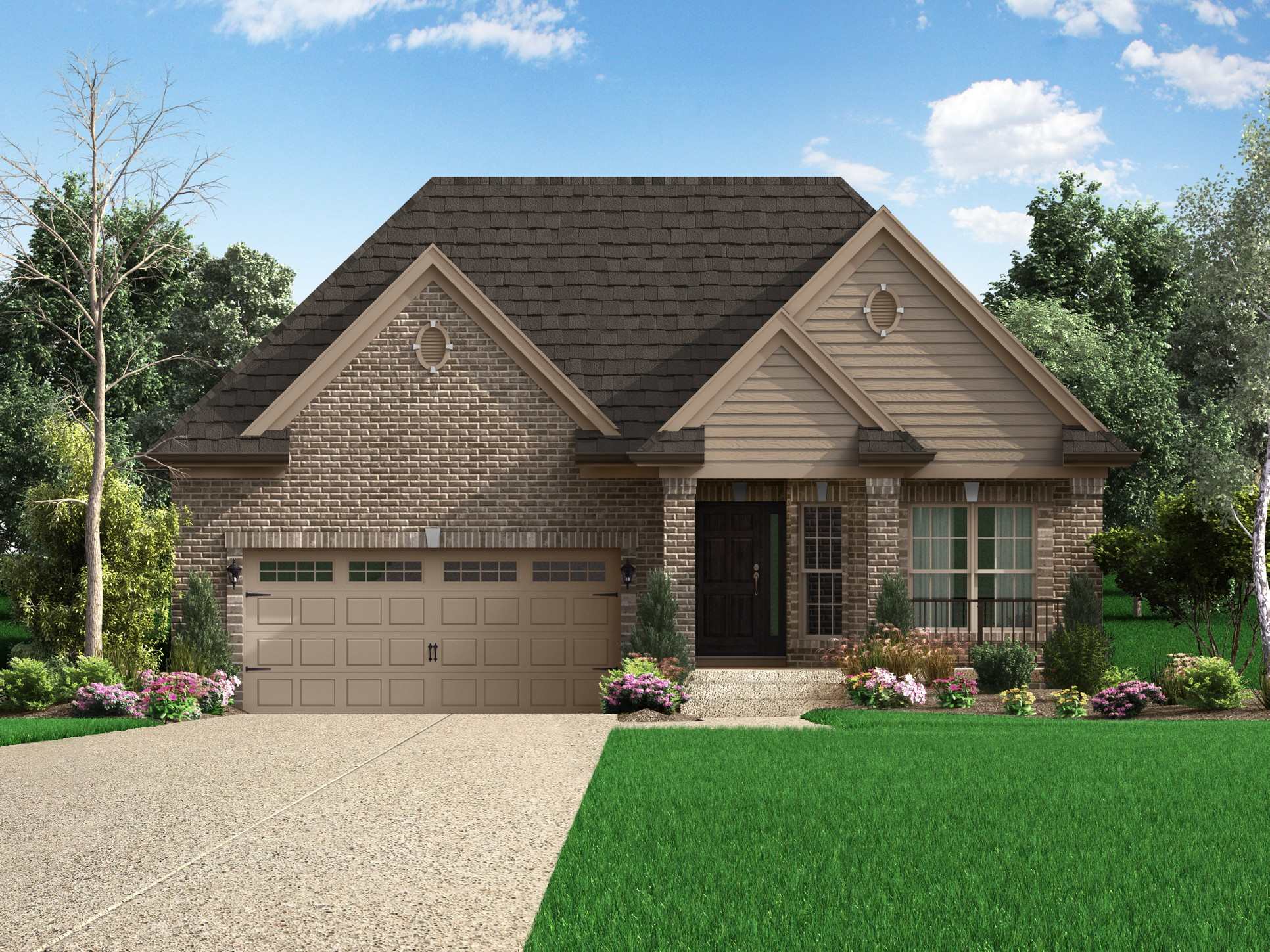The Mayfield Plan At The Villas At Floyds Fork In Louisville Ky By Elite Built Homes Llc