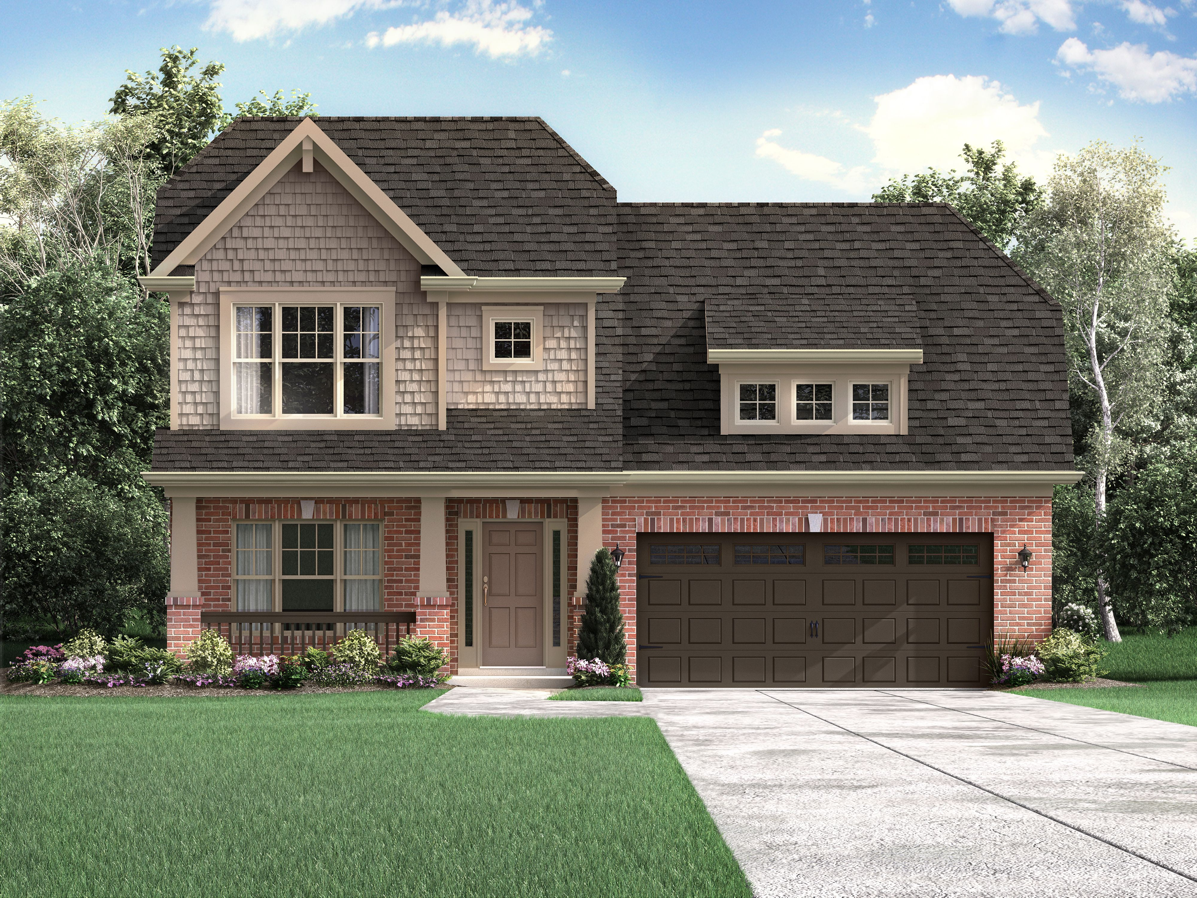 The Villas At Floyds Fork In Louisville Ky New Homes Floor Plans