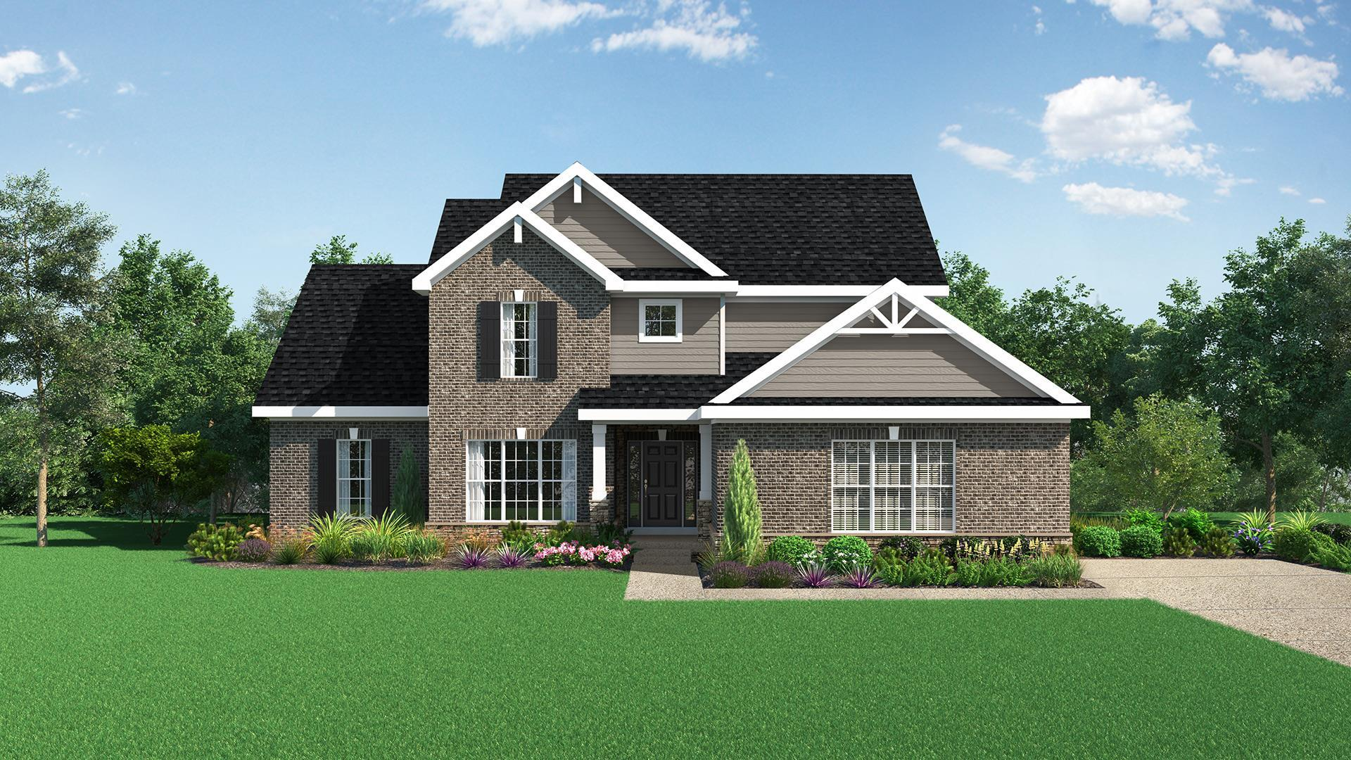 Exterior featured in The Jackson By Elite Built Homes LLC in Louisville, KY
