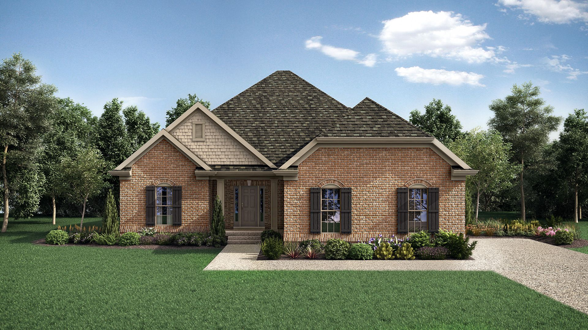 Exterior featured in The Lincoln By Elite Built Homes LLC in Louisville, KY