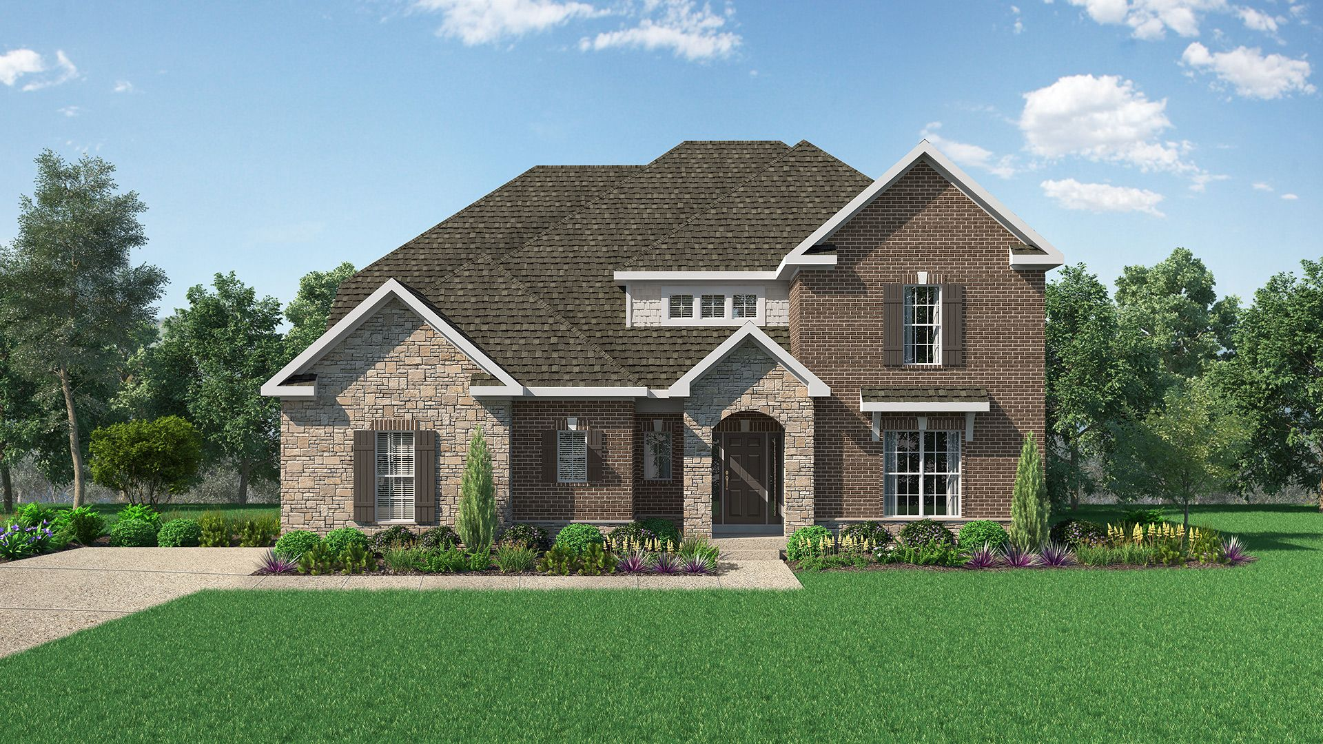 Exterior featured in The Washington By Elite Built Homes LLC in Louisville, KY