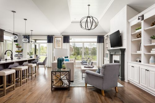 Greatroom-and-Dining-in-The Mayfield-at-The Villas at Floyds Fork-in-Louisville