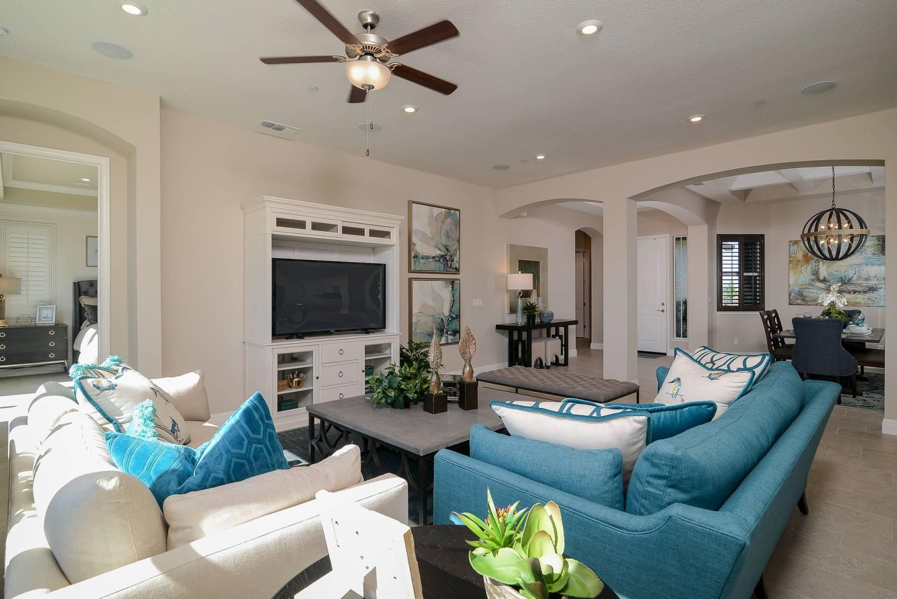Living Area featured in the Zinfandel By Elliott Homes in Stockton-Lodi, CA