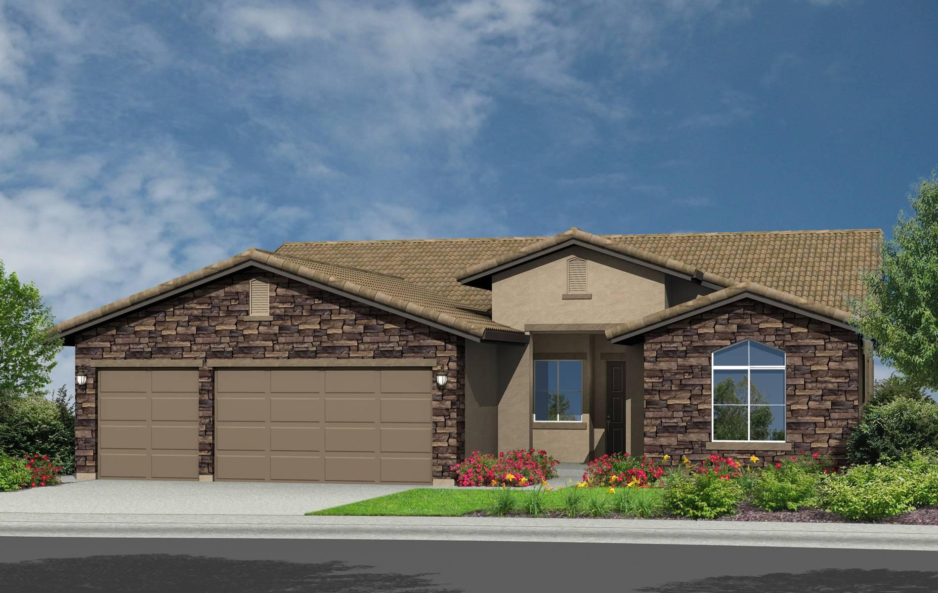 Exterior featured in the Brome By Elliott Homes in Sacramento, CA