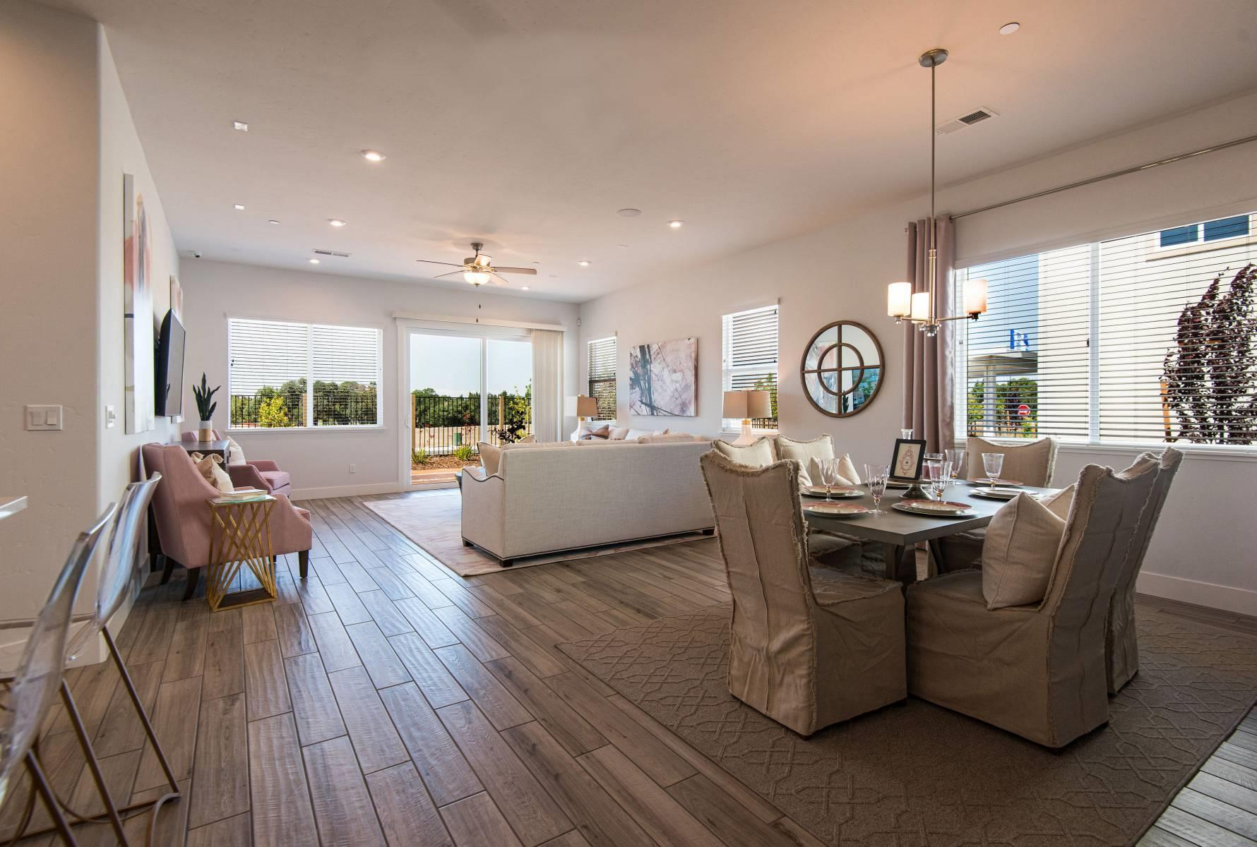 Living Area featured in the Clover By Elliott Homes in Sacramento, CA