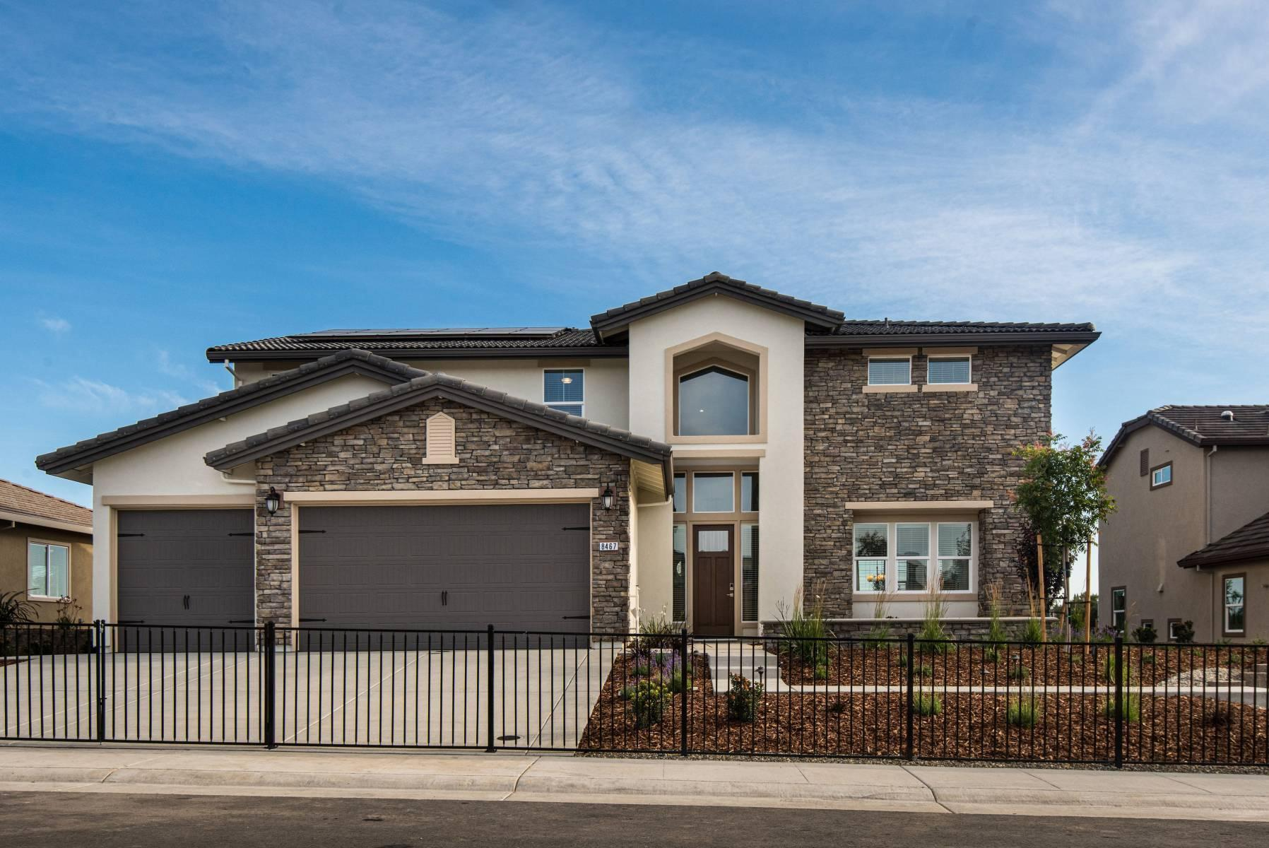 Exterior featured in the Primrose By Elliott Homes in Sacramento, CA