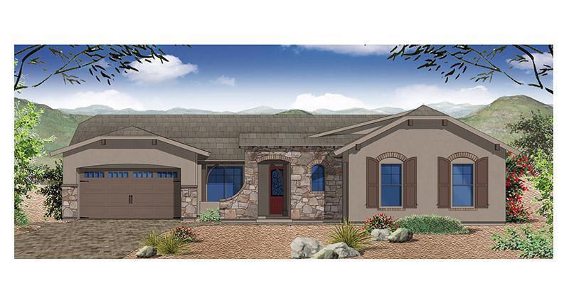 Exterior featured in the Belmonte By Elliott Homes - Arizona in Phoenix-Mesa, AZ