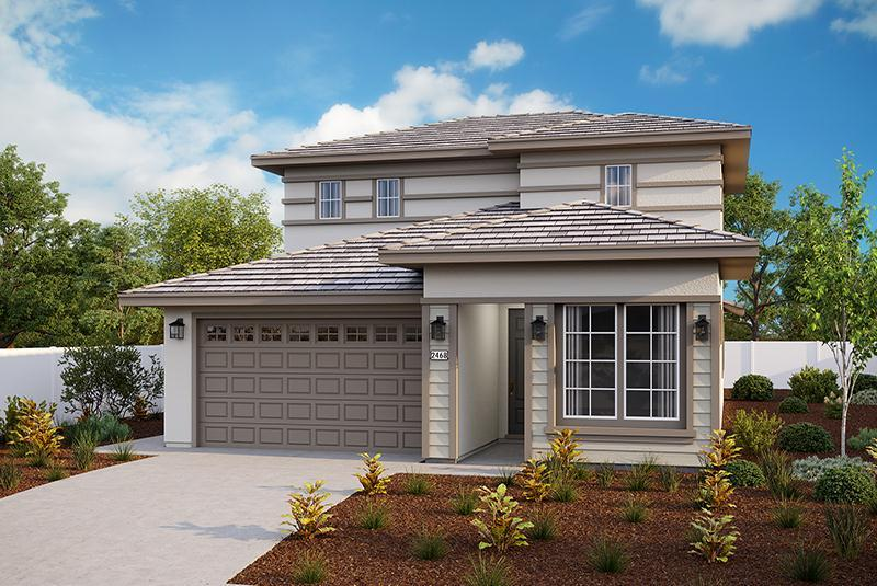 Exterior featured in the Plan 2468 By Elliott Homes in Sacramento, CA