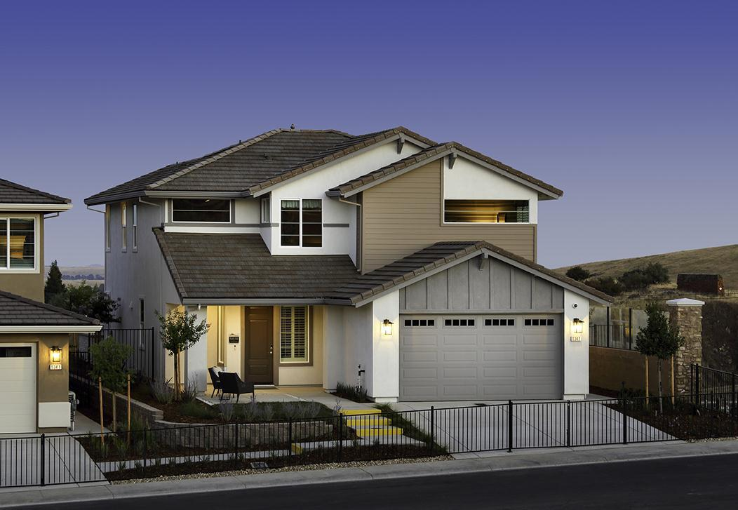 Exterior featured in the Plan 2637 By Elliott Homes in Sacramento, CA