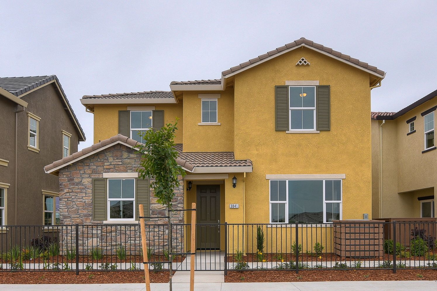 Exterior featured in The Classico  By Elliott Homes in Sacramento, CA