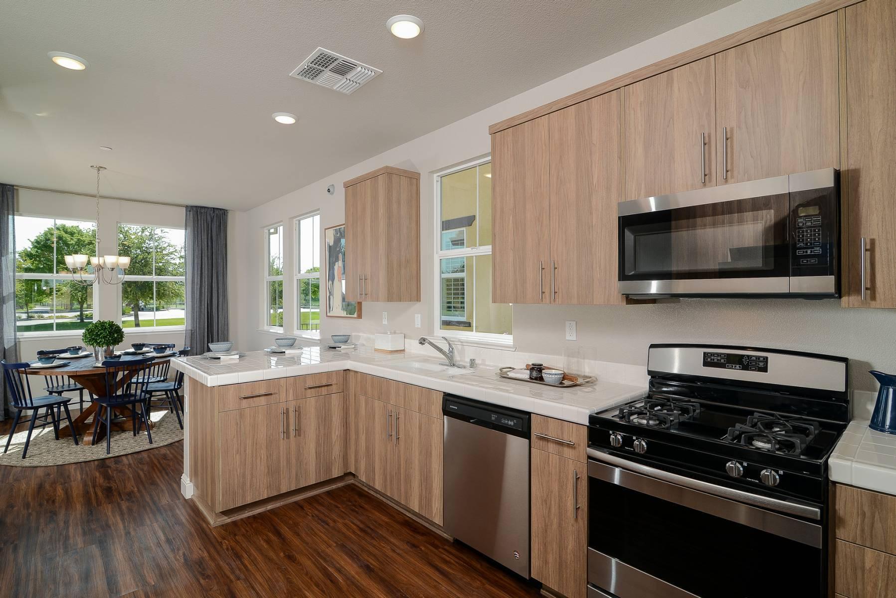 Kitchen featured in The Viaggio By Elliott Homes in Sacramento, CA