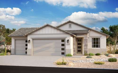 Exterior featured in the 1648 By Elliott Homes - Arizona in Yuma, AZ