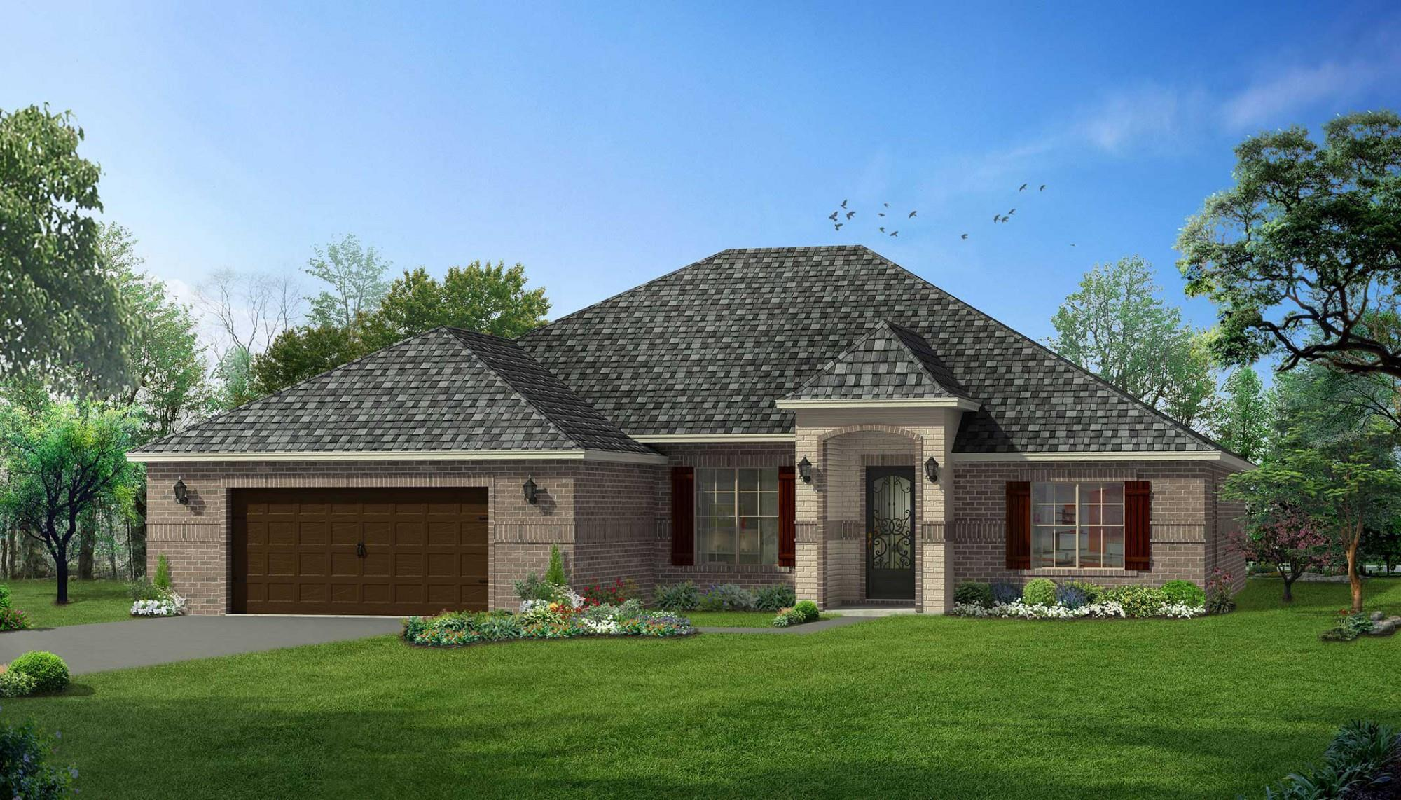Exterior featured in The Allen By Elliott Homes in Biloxi, MS