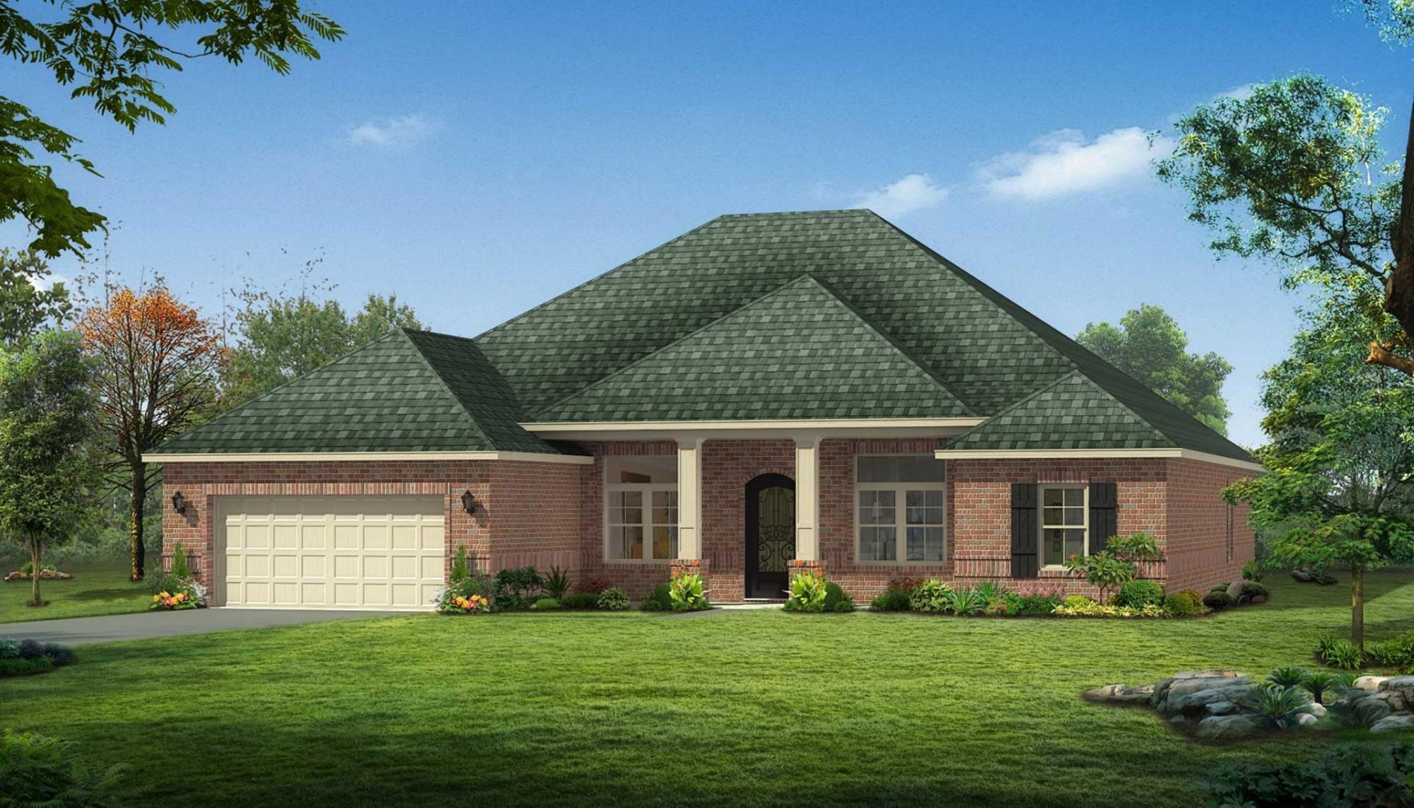 Exterior featured in The Audrey By Elliott Homes in Biloxi, MS