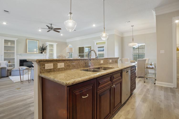 Kitchen featured in The Allen By Elliott Homes in Biloxi, MS