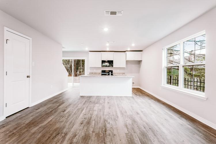 Kitchen featured in The Brianna By Elliott Homes in Biloxi, MS