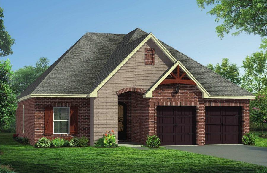 Exterior featured in The Harper By Elliott Homes in Biloxi, MS